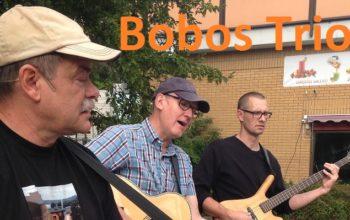 3 Jun kl 11:30 – Bobos trio